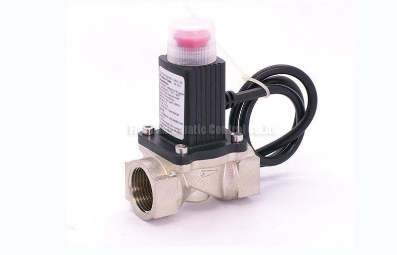 "MQ Series Auto Shut-off 2 Way Pneumatic Solenoid Valve G1/2"" For Gas Line"