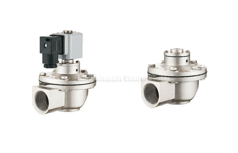 "24V 0.46A G3/4"" NBR Seal Pulse Jet Valve 0.4-0.6Mpa For Dust Removal"
