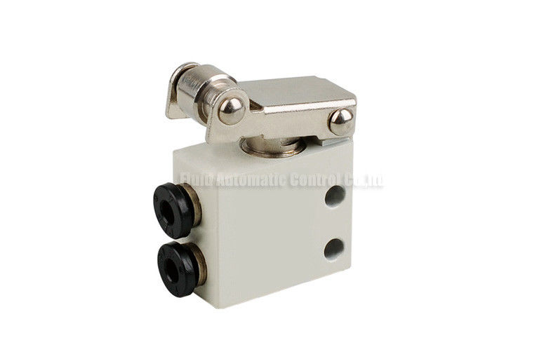 Two Position Three Way Mechanical Control Valve For Pneumatic Automation System