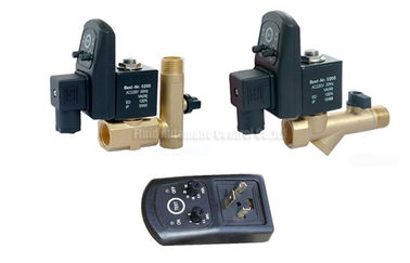 16bar 5mm نحاس أصفر مؤقت مصرف آليّ مع مصفاة مرشح وتصريف صمام